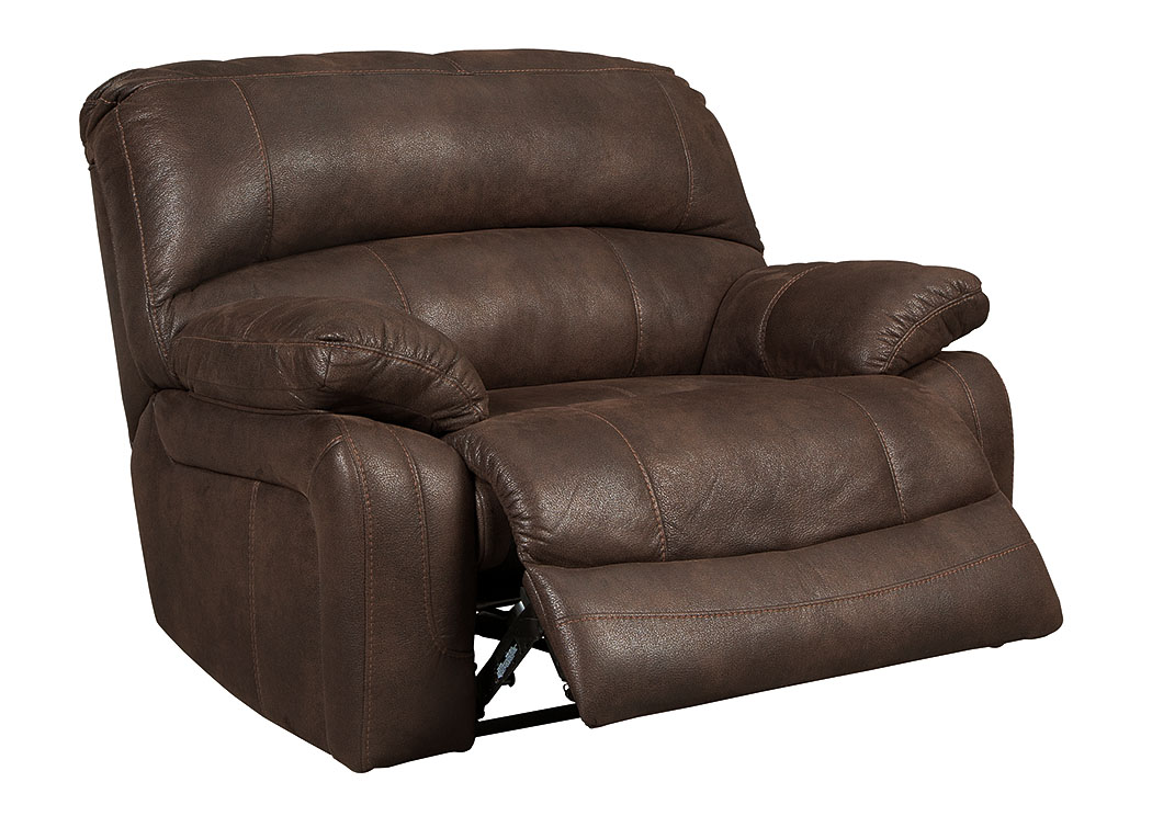Zavier Truffle Wide Seat Recliner,Signature Design By Ashley