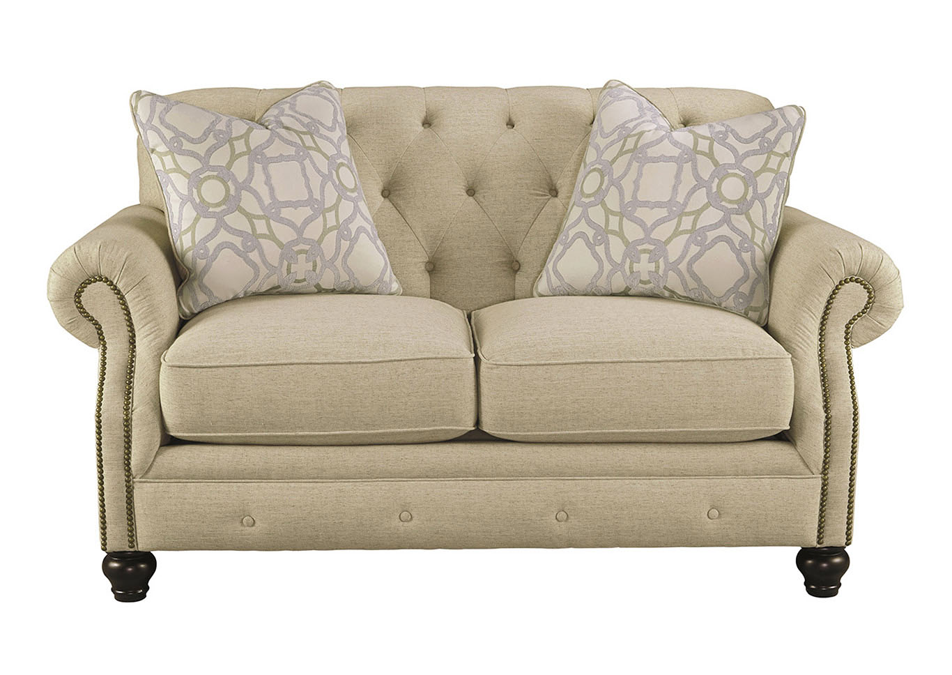 Kieran Natural Loveseat,Signature Design by Ashley