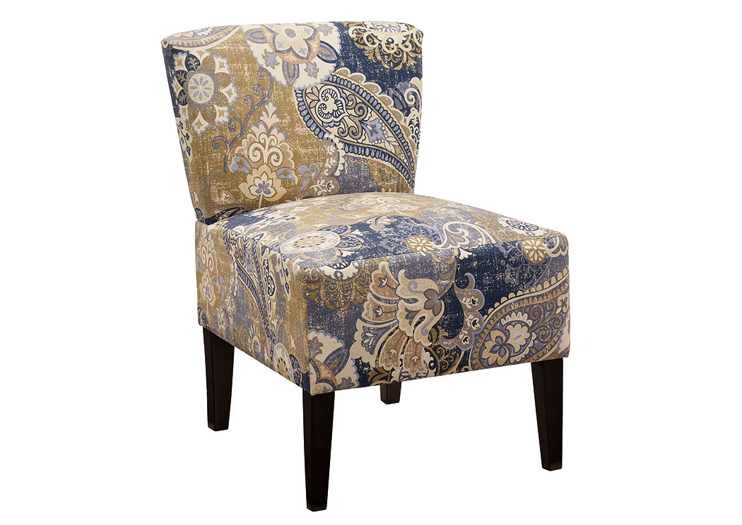 Ravity Denim Accent Chair,Signature Design By Ashley