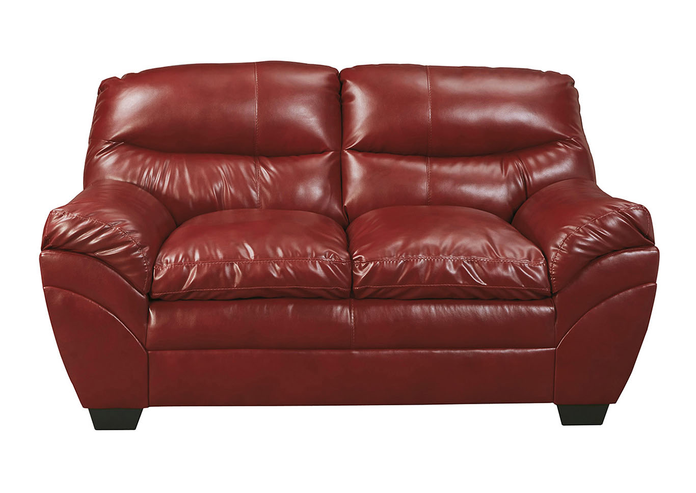 Tassler DuraBlend Crimson Loveseat,Signature Design by Ashley