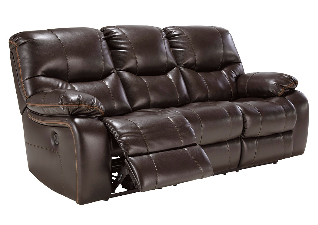 Pranas Brindle Reclining Power Sofa,Signature Design by Ashley