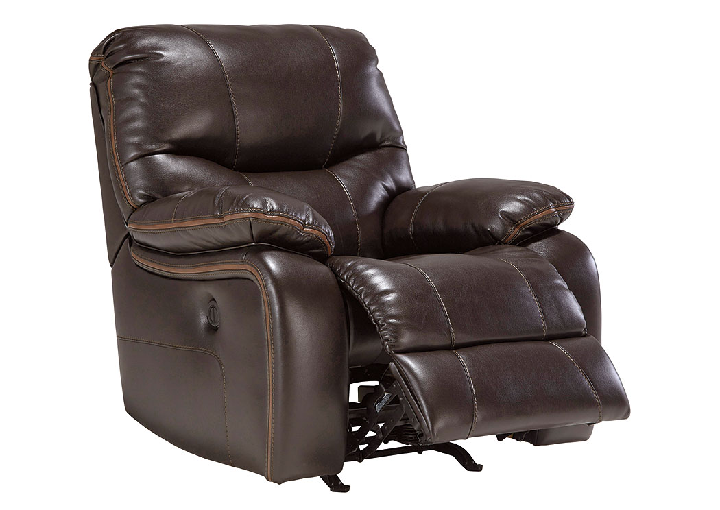 Pranas Brindle Power Rocker Recliner,Signature Design By Ashley