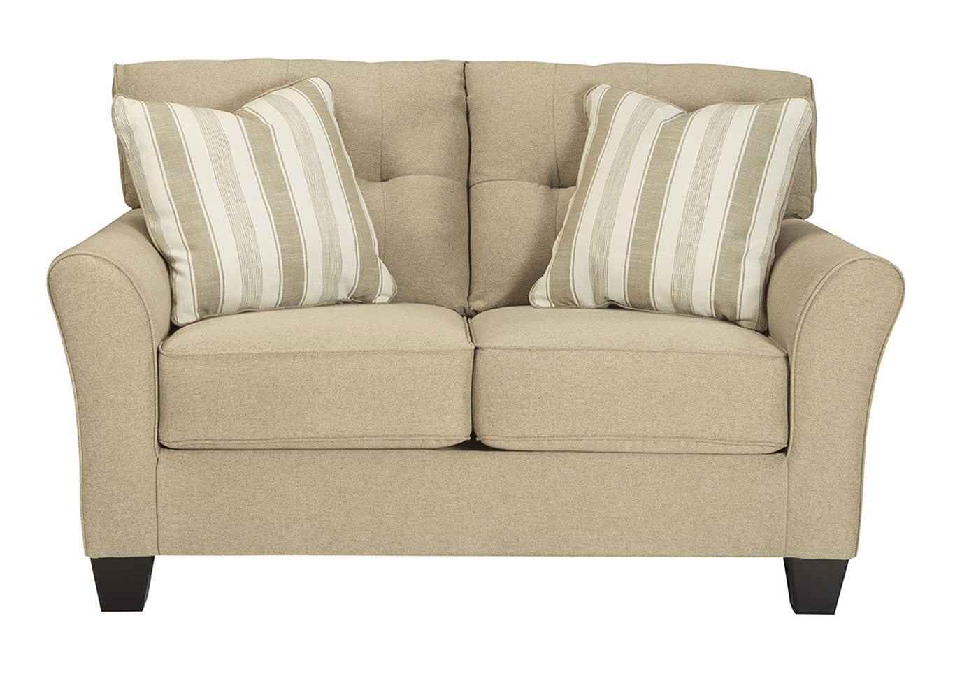 Furniture Liquidators Baton Rouge La Laryn Khaki Loveseat