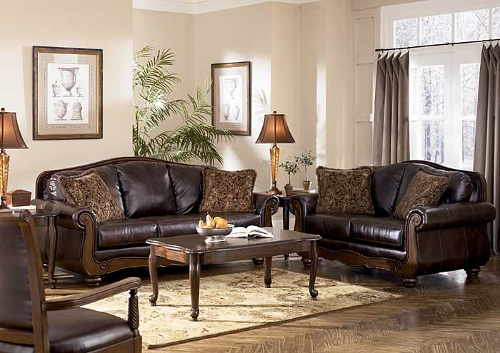 Barcelona Antique Sofa & Loveseat,Signature Design by Ashley