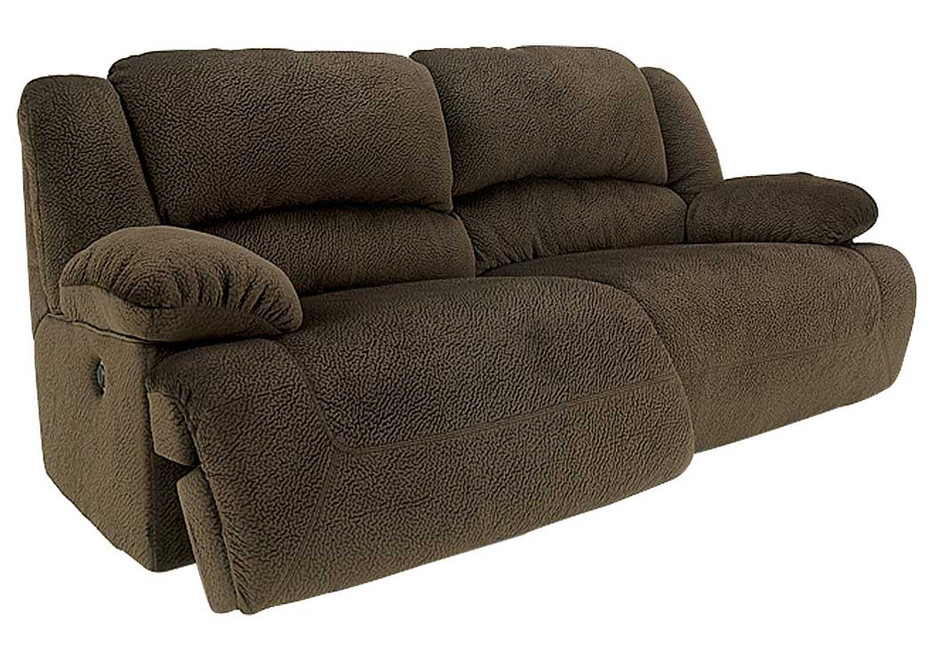 Toletta Chocolate 2 Seat Power Reclining Sofa,Signature Design By Ashley