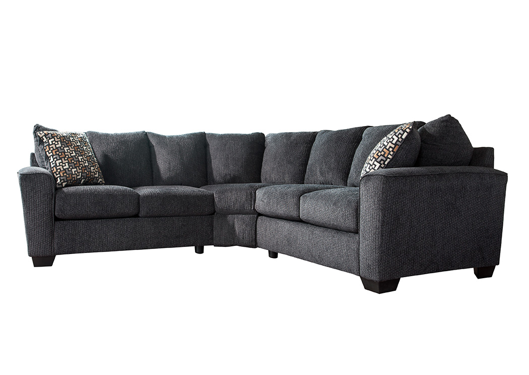 Wixon Slate Sectional,Benchcraft