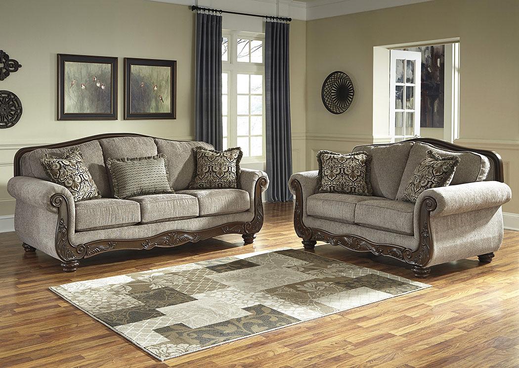 Alabama Furniture Market Cecilyn Cocoa Sofa And Loveseat