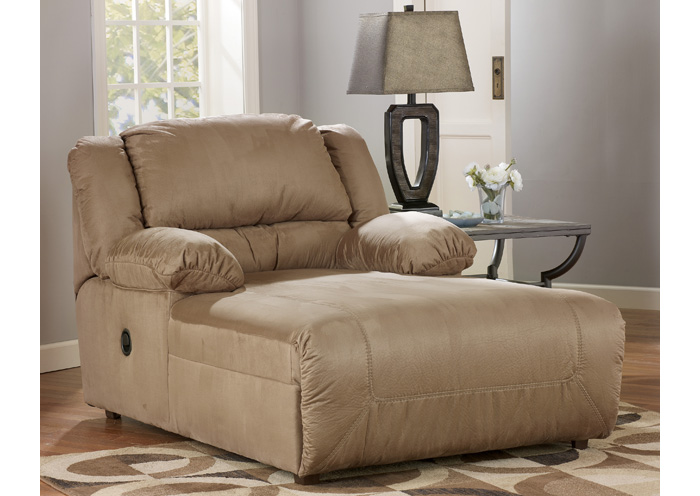 Hogan Mocha Pressback Chaise,ABF Signature Design by Ashley