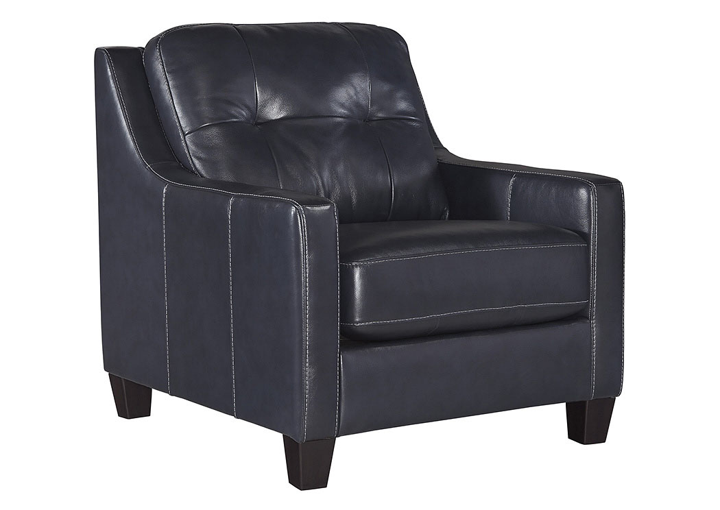 O'Kean Navy Chair,Signature Design by Ashley