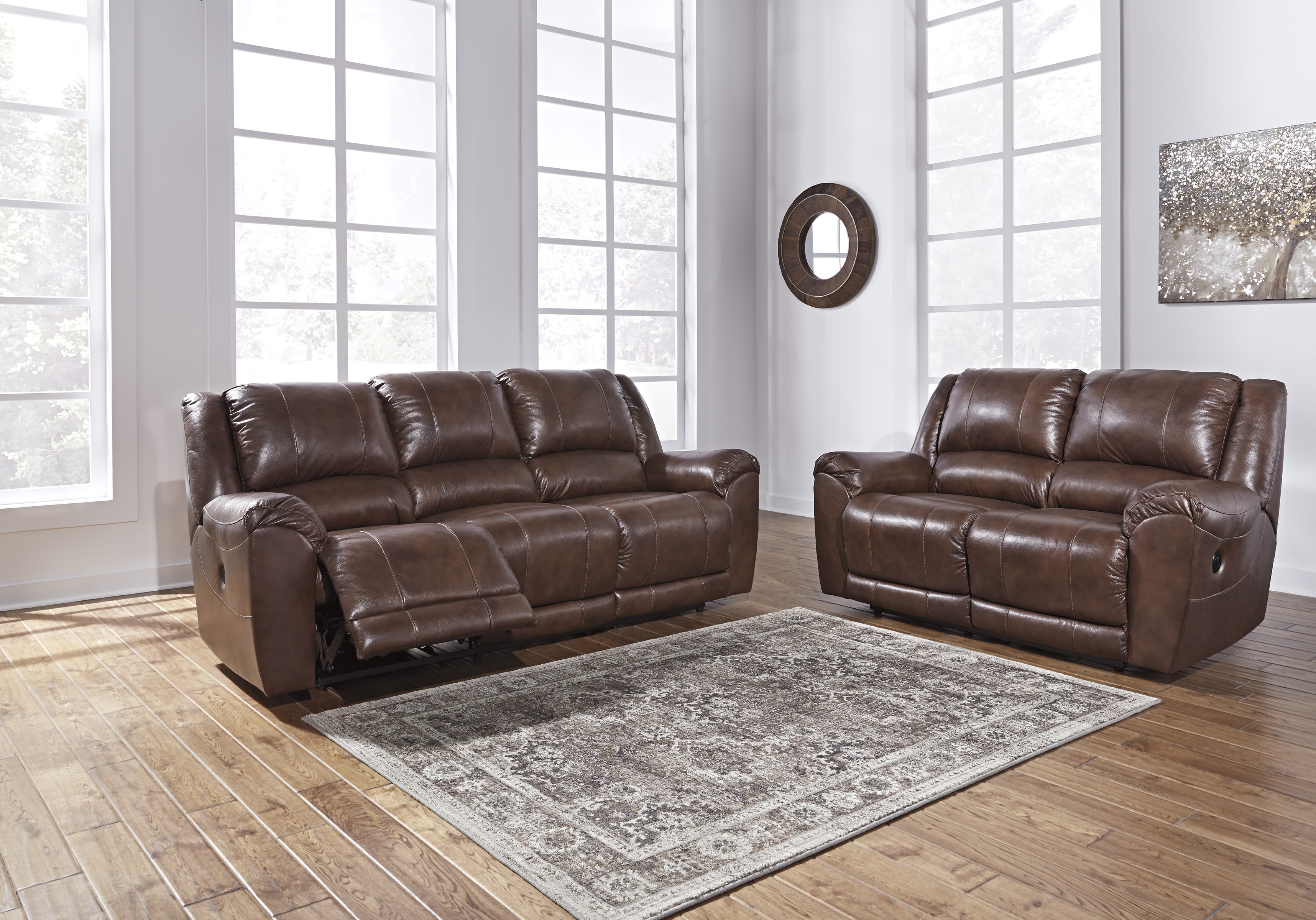 Persiphone Canyon Power Reclining Sofa & Loveseat,Signature Design By Ashley