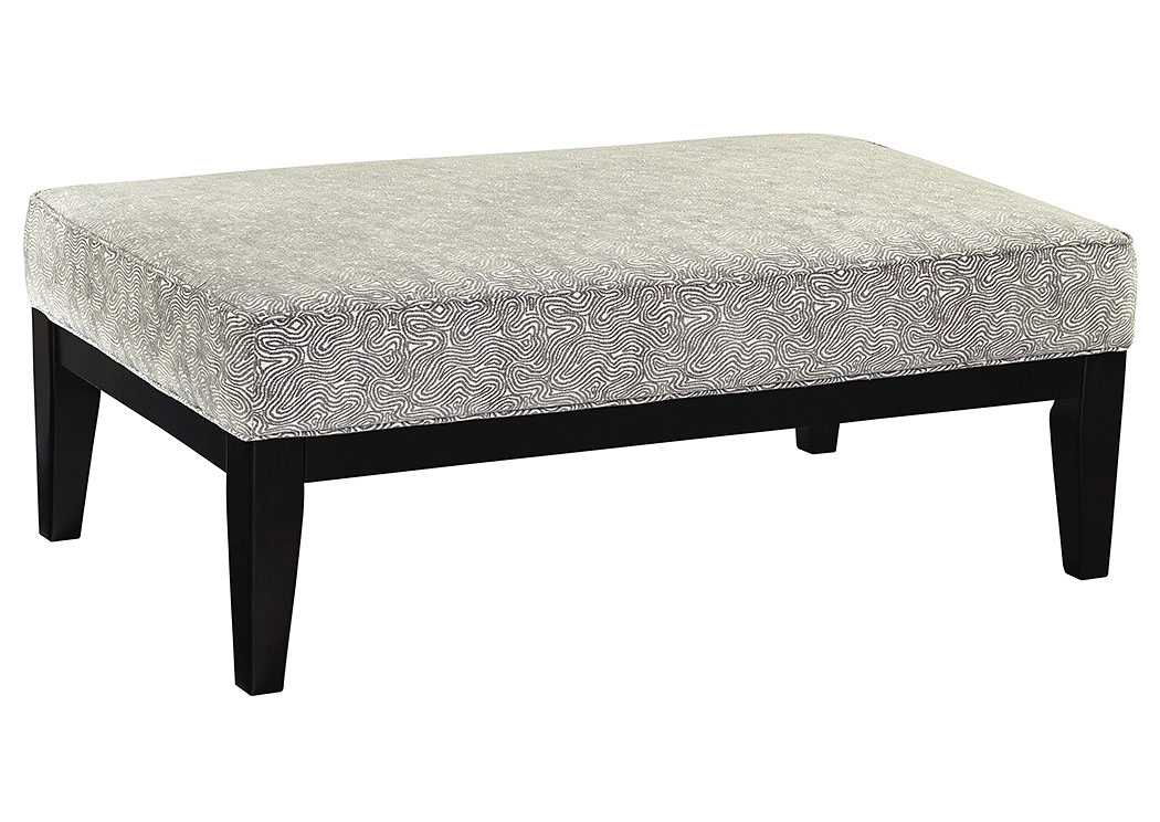 Brielyn Linen Oversized Accent Ottoman,Benchcraft