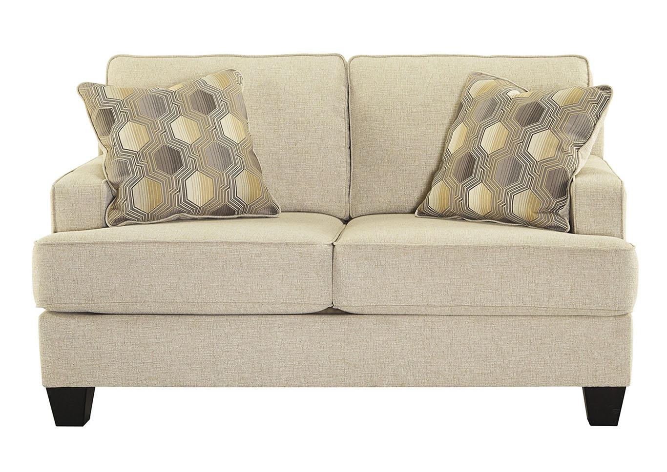 Bargain Furniture Brielyn Linen Loveseat
