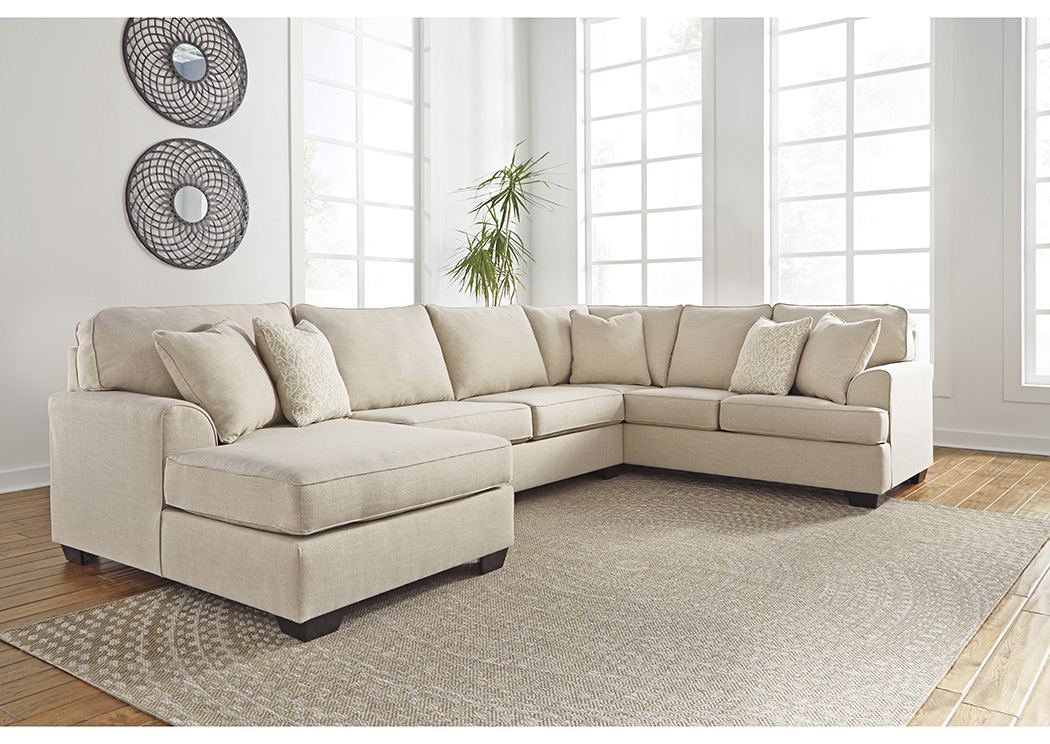 Best Buy Furniture And Mattress Brioni Nuvella Sand Left Facing Corner  Chaise Sofa Sectional