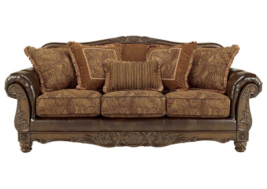 Charming Fresco DuraBlend Antique Sofa