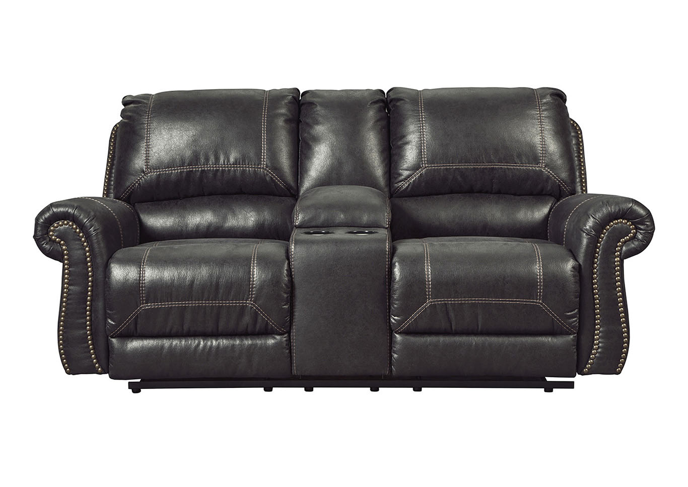 Alabama Furniture Market Milhaven Black Double Power