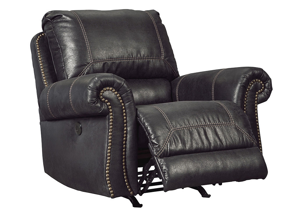 High Point Sofa Factory Florence Sc Milhaven Black Power Rocker Recliner
