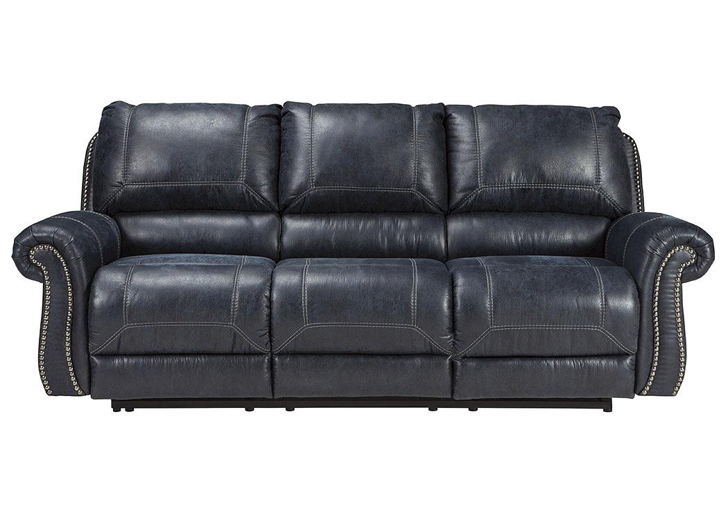 Shepu0027s Discount Furniture   Jacksonville, FL Milhaven Navy Power Reclining  Sofa