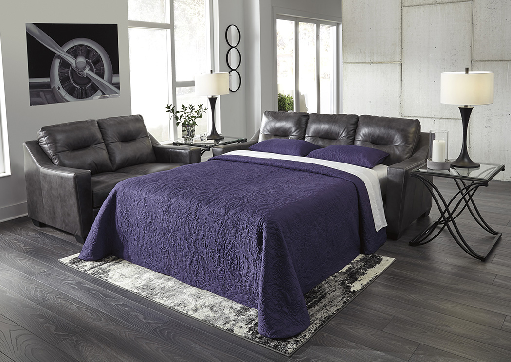 Kensbridge Charcoal Queen Sofa Sleeper,Signature Design By Ashley