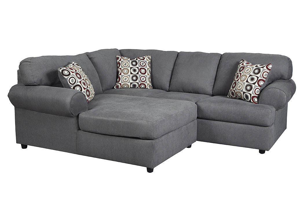 Regal house furniture outlet new bedford ma jayceon for Brown leather chaise end sofa