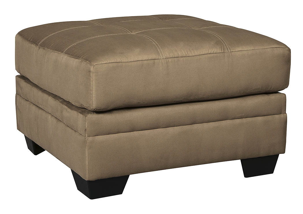 Oak Furniture Liquidators Iago Mocha Oversized Accent Ottoman