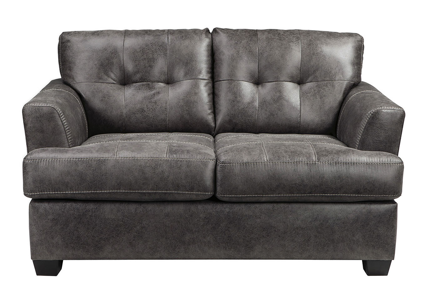 Ivan Smith Inmon Charcoal Loveseat