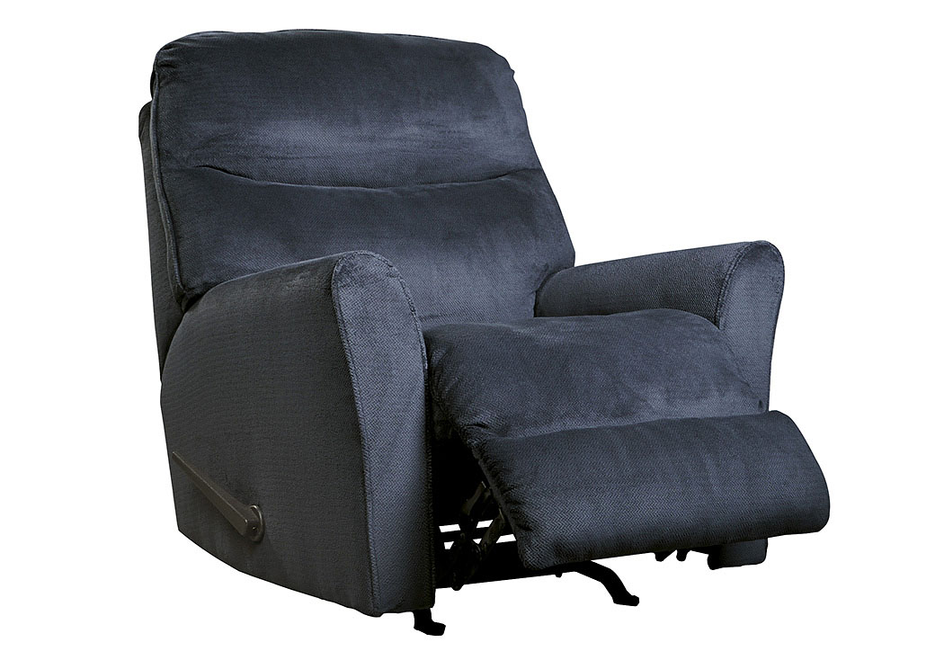 Cossette Midnight Rocker Recliner,Signature Design by Ashley