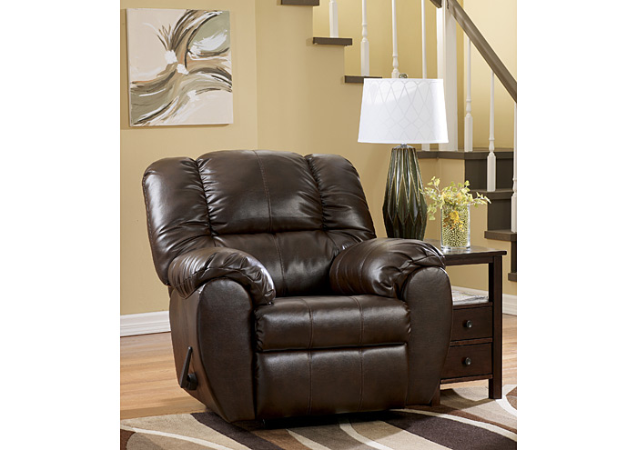 Dylan DuraBlend Espresso Rocker Recliner,Signature Design By Ashley