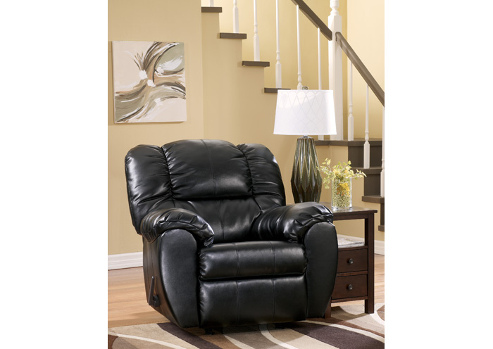 Dylan DuraBlend Onyx Rocker Recliner,Signature Design By Ashley