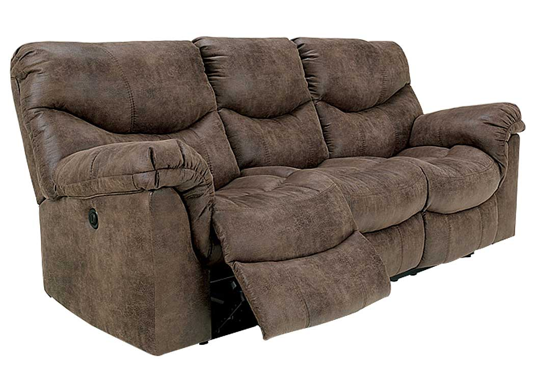 Alzena Gunsmoke Reclining Power Sofa,Signature Design by Ashley