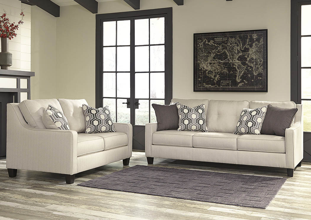 Guillerno Alabaster Sofa and Loveseat,Benchcraft