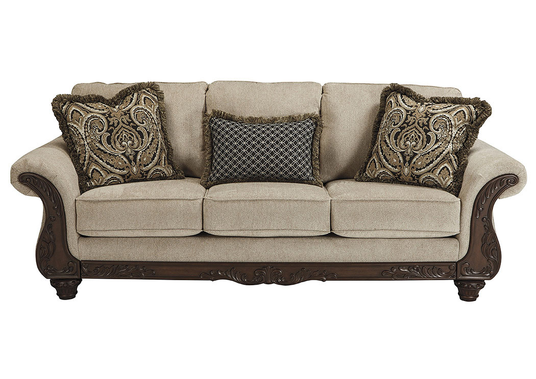 Wine Country Furniture Laytonsville Pebble Sofa
