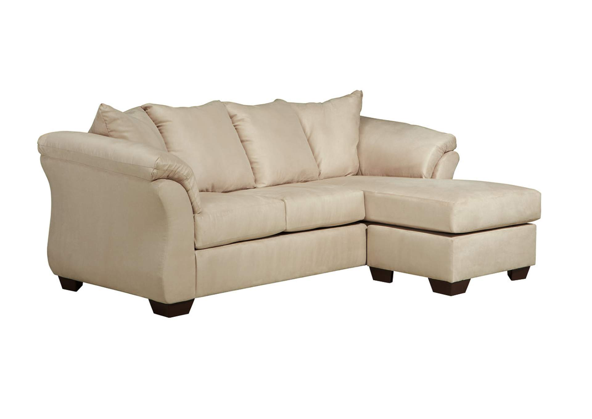 Affordable furniture houston darcy stone sofa chaise for Affordable chaise