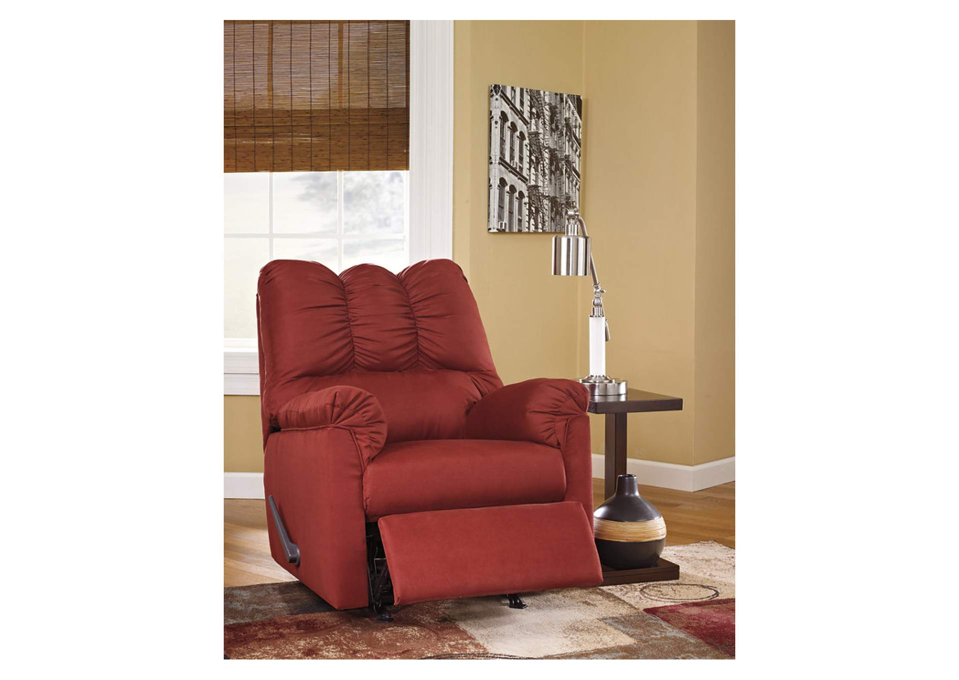 Darcy Salsa Rocker Recliner,Signature Design by Ashley