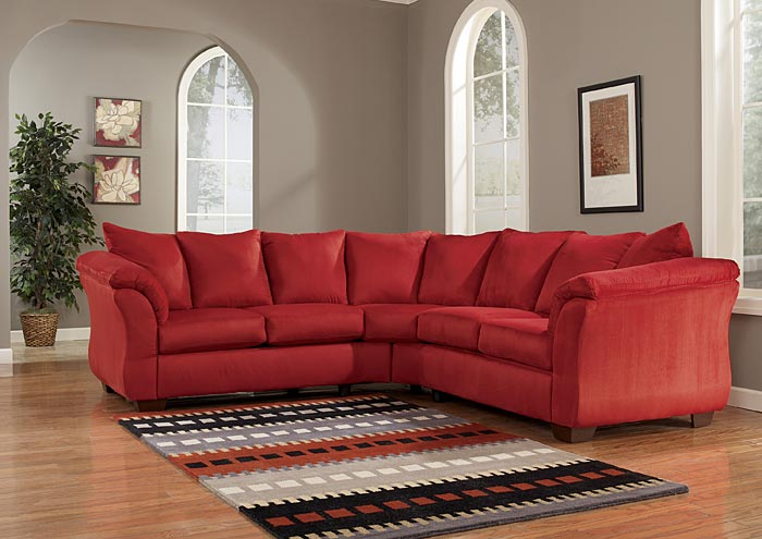 Darcy Salsa Sectional,Signature Design by Ashley