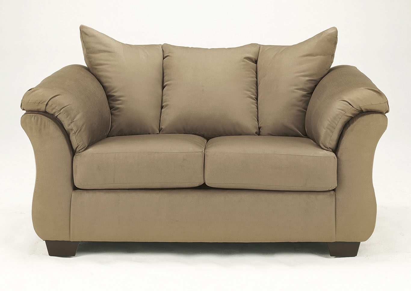 Darcy Mocha Loveseat,Signature Design by Ashley