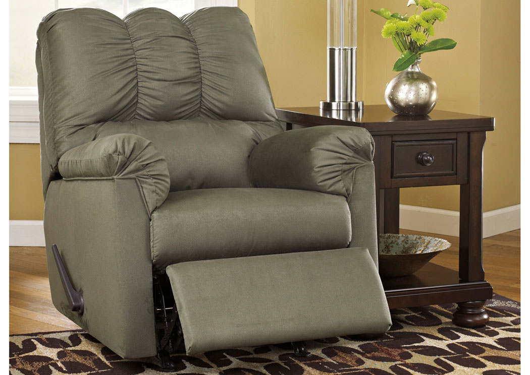 Darcy Sage Rocker Recliner,Signature Design By Ashley