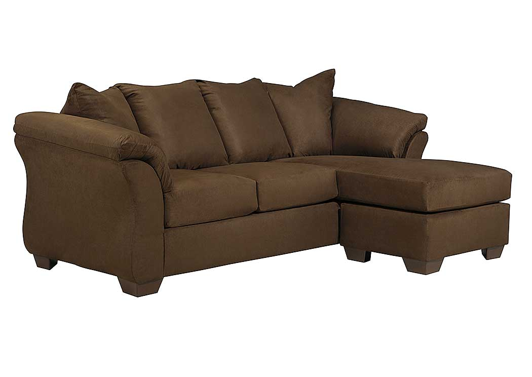Barnett brown furniture florence al darcy cafe sofa for Chaise and sofa