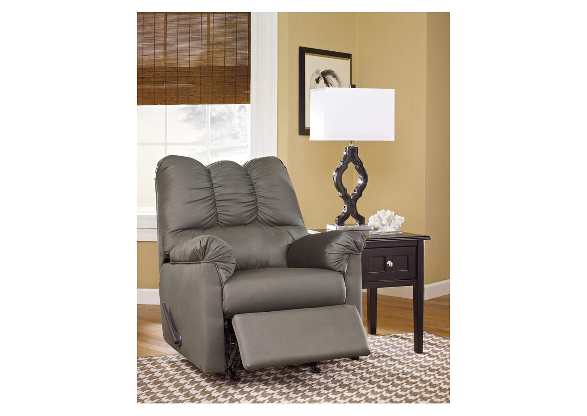 Darcy Cobblestone Rocker Recliner,Signature Design By Ashley