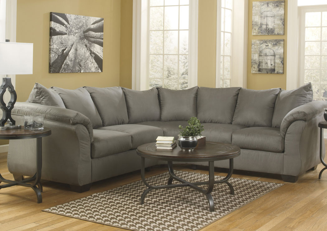 Darcy Cobblestone Sectional,Signature Design By Ashley