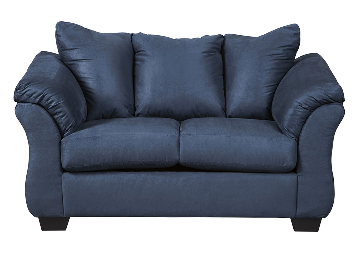 Darcy Blue Loveseat,Signature Design By Ashley