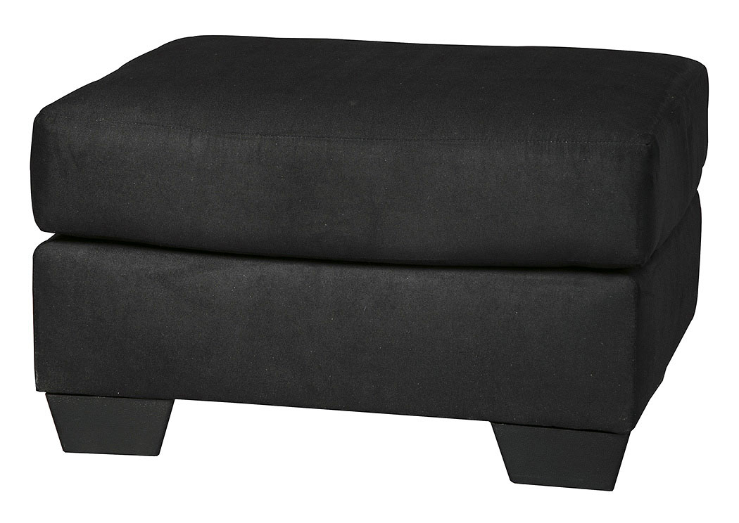 Darcy Black Ottoman,Signature Design By Ashley