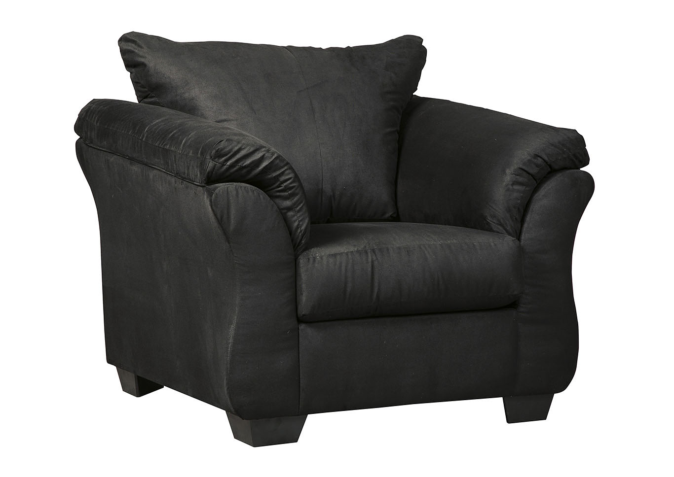 Darcy Black Chair,Signature Design By Ashley