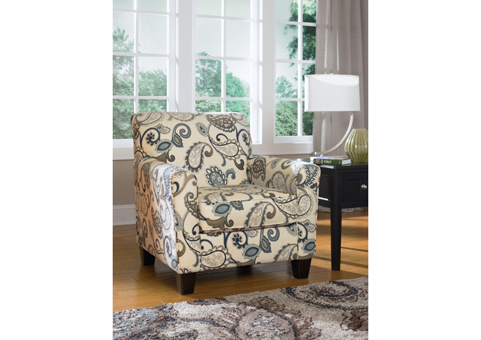 Yvette Steel Accent Chair,Ashley
