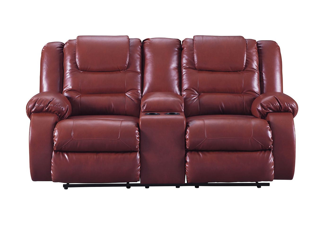 Vacherie Salsa Double Reclining Loveseat w/Console,Signature Design By Ashley