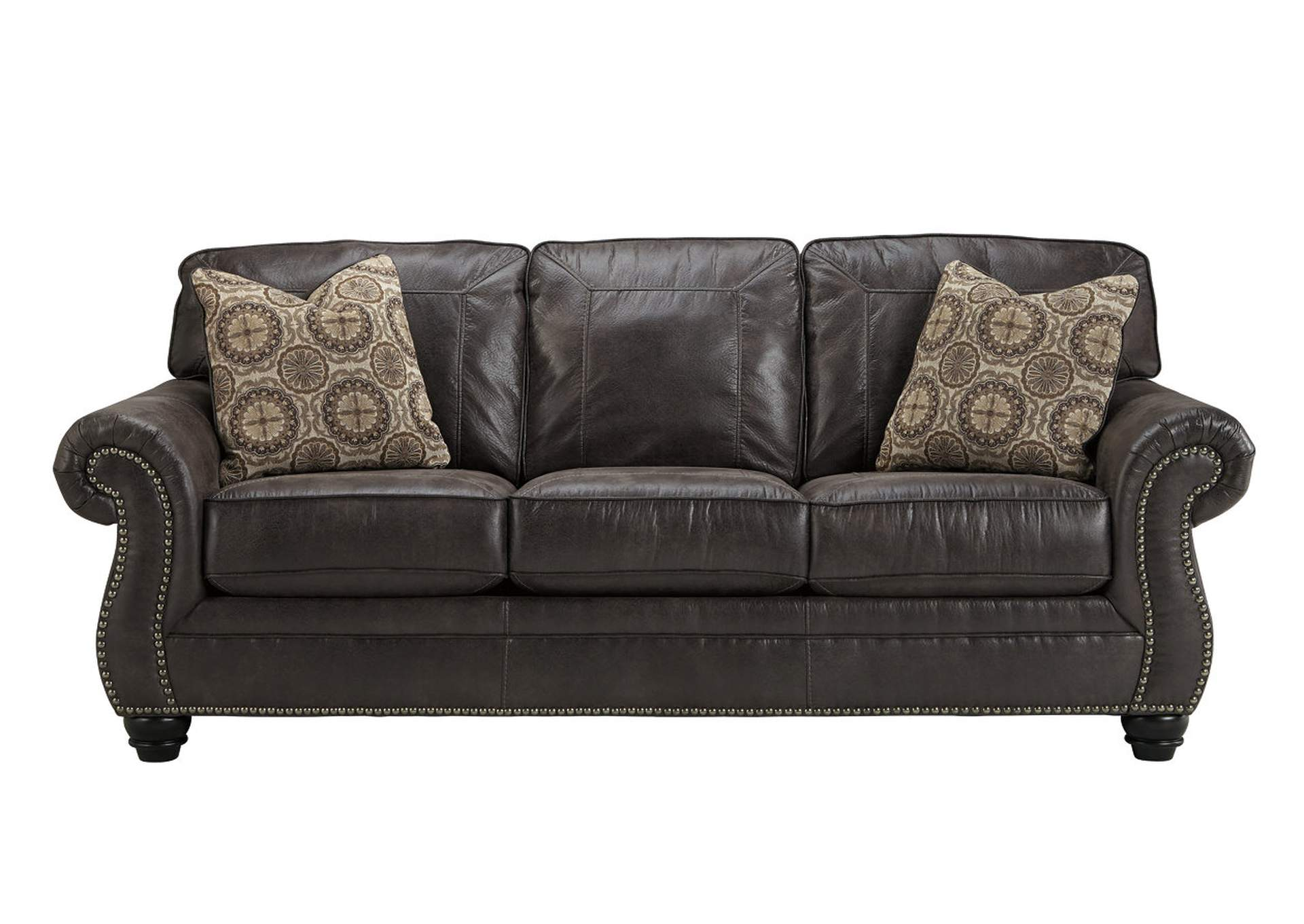 Breville Charcoal Sofa Benchcraft. Lifestyle Furniture Home Store Breville Charcoal Sofa
