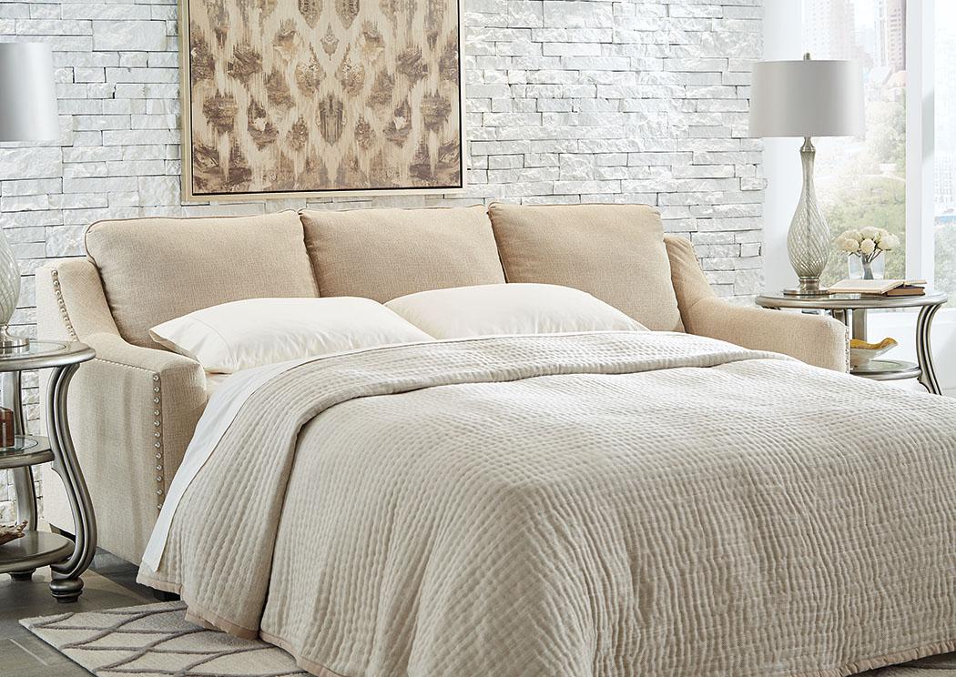 Mauricio Linen Queen Sofa Sleeper,Benchcraft