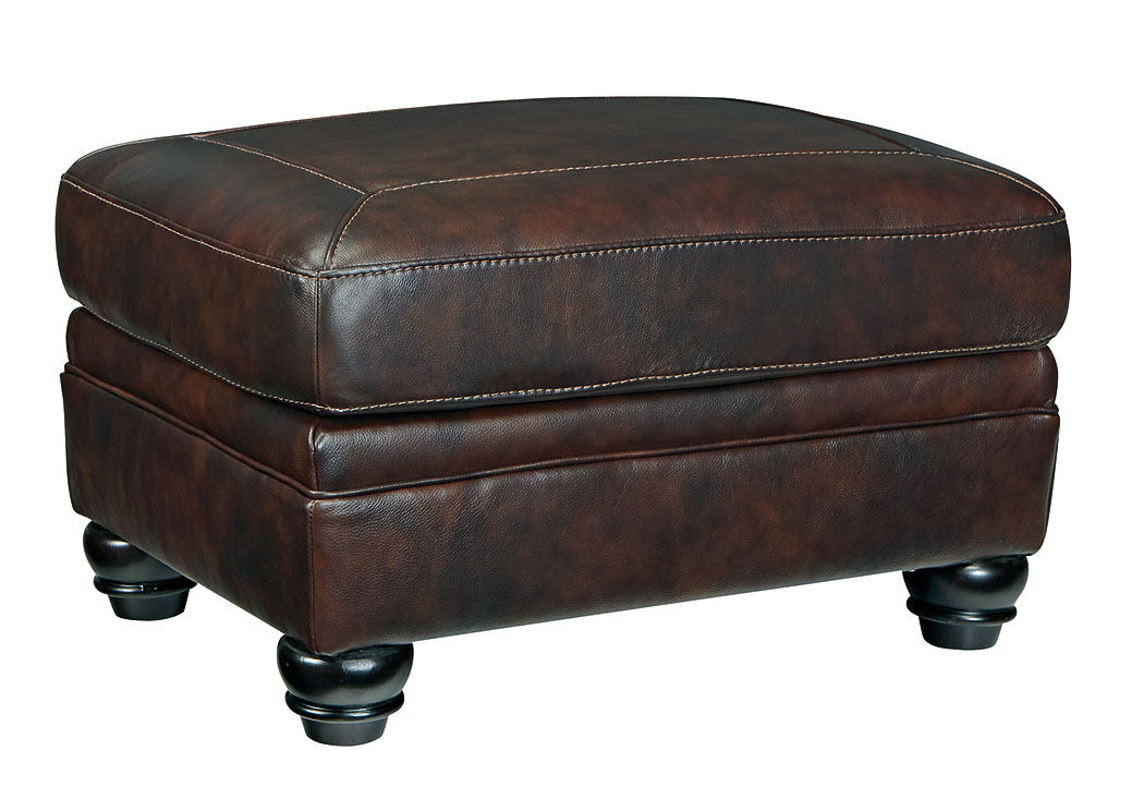 Bristan Walnut Ottoman,Signature Design By Ashley