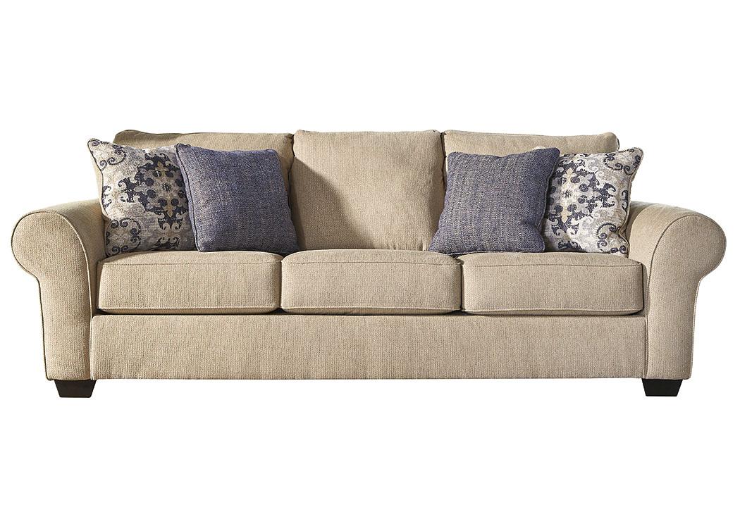 Harlem Furniture Denitasse Parchment Sofa