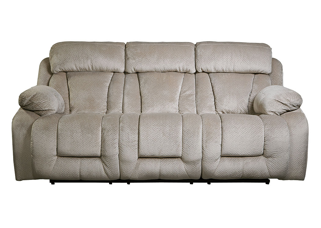 Stricklin Pebble Reclining Power Sofa,Signature Design By Ashley