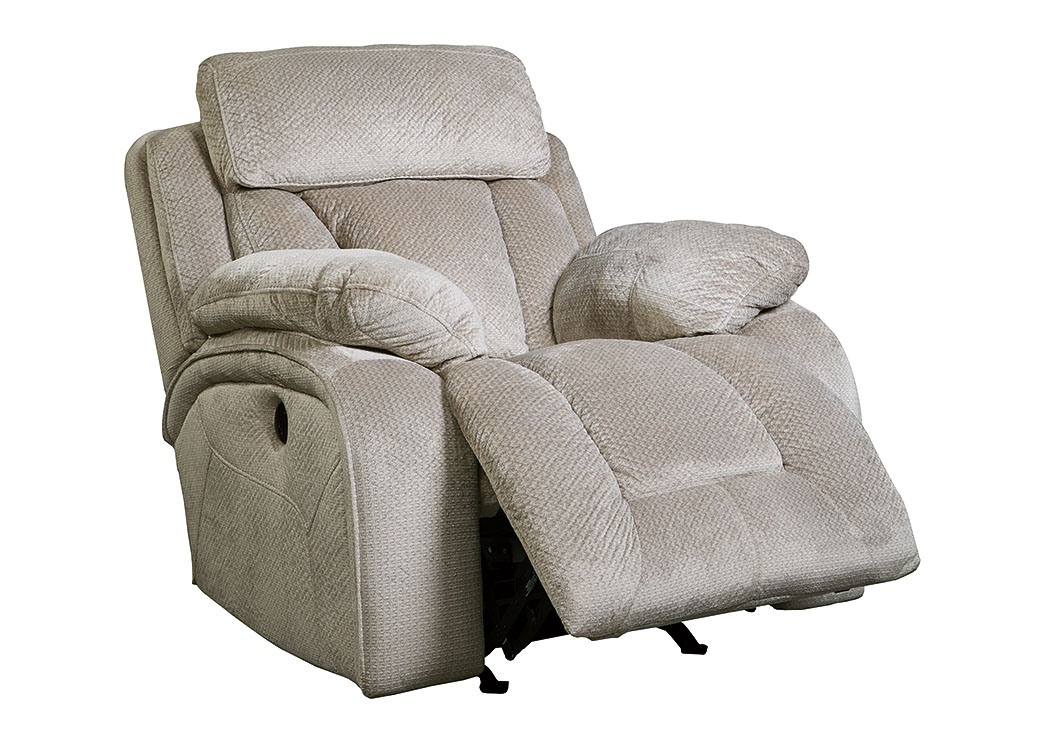 Stricklin Pebble Power Rocker Recliner,Signature Design By Ashley